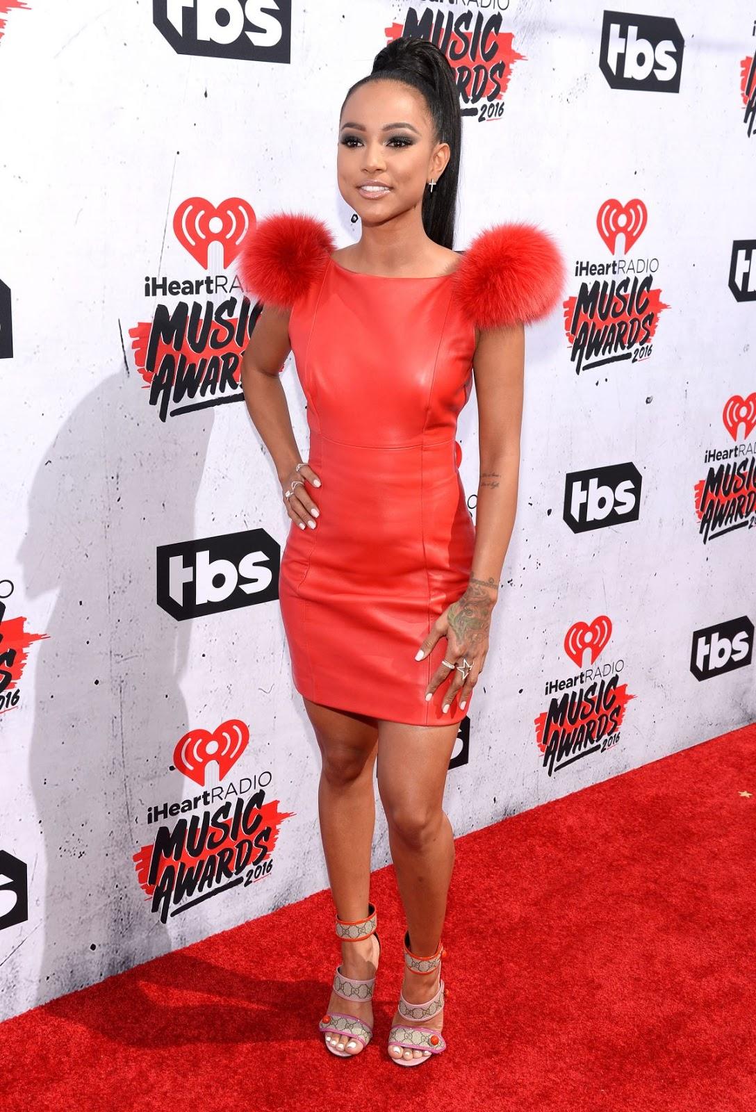 Karrueche Tran attends iHeartRadio Music Awards 2016