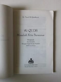 Al-Quds Masalah Kita Bersama