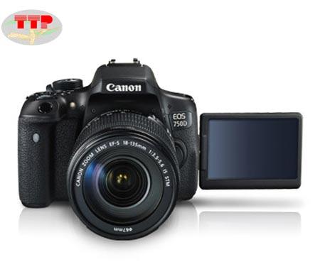 Máy ảnh Canon EOS 750D Kit Lens 18-55 IS STM