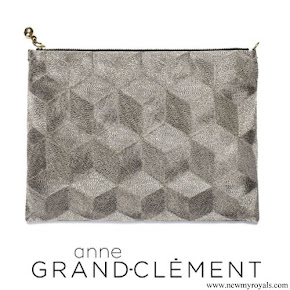 Kate Middleton carried Anne Grand-Clement Clutch