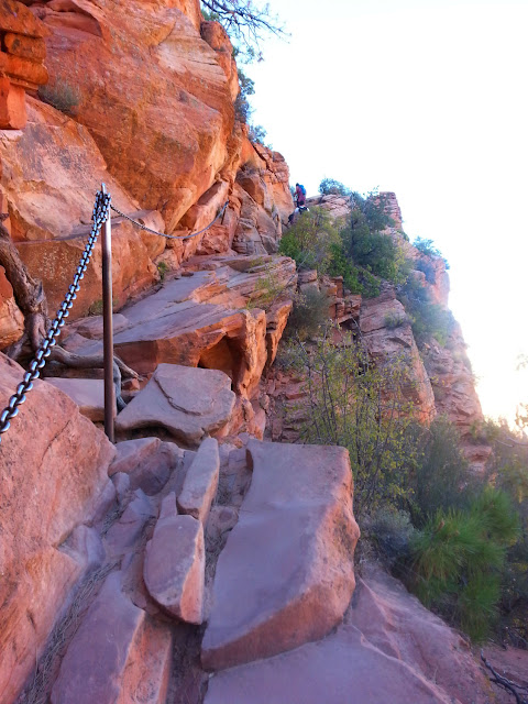 Runaway Bridal Planner Hiking Angles Landing