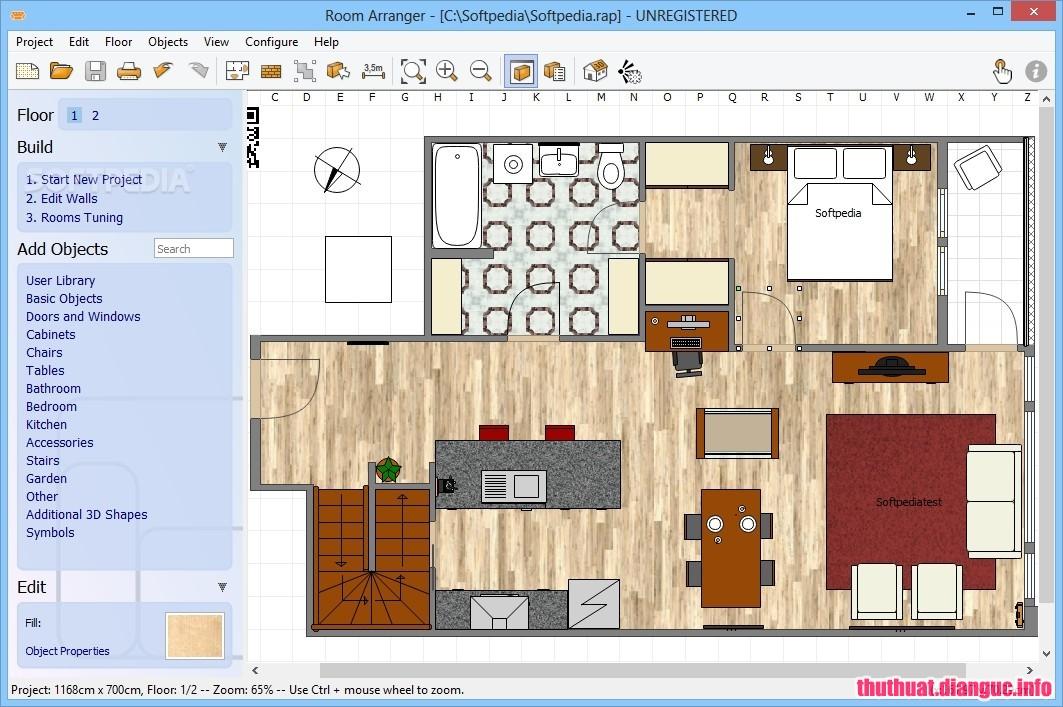 Download Room Arranger 9.5.5.614 Full Cr@ck – Phần mềm thiết kế 3D mạnh mẽ