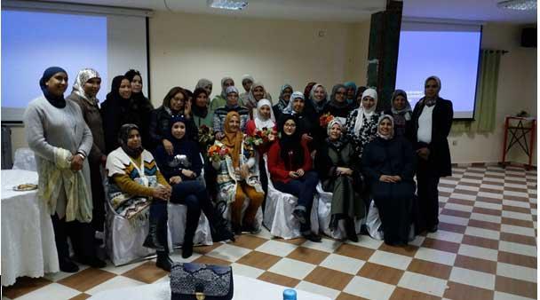 اللجنة النسائية للجامعة الوطنية لموظفي التعليم  تحتفل بمناسبة عيد المرأة الذي يصادف الثامن من مارس