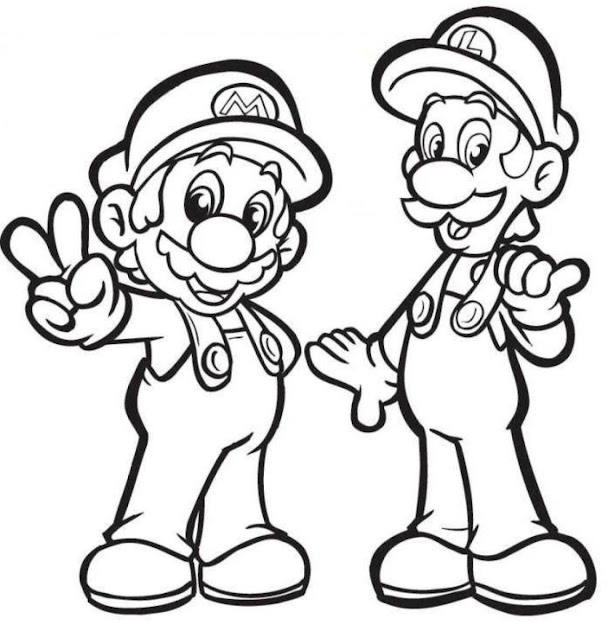 Coloring Pages  Mario Printable Free Coloring Pages On Art Coloring  Pages Mario Coloring