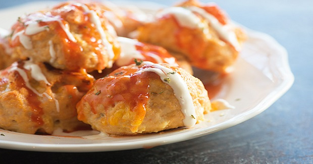 Low Carb Buffalo Chicken Meatballs Recipe