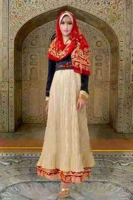 Model gaun pesta muslim modern tren masa kini
