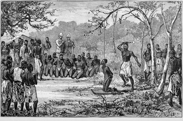 Genocidio belga de 10 millones de personas en el Congo