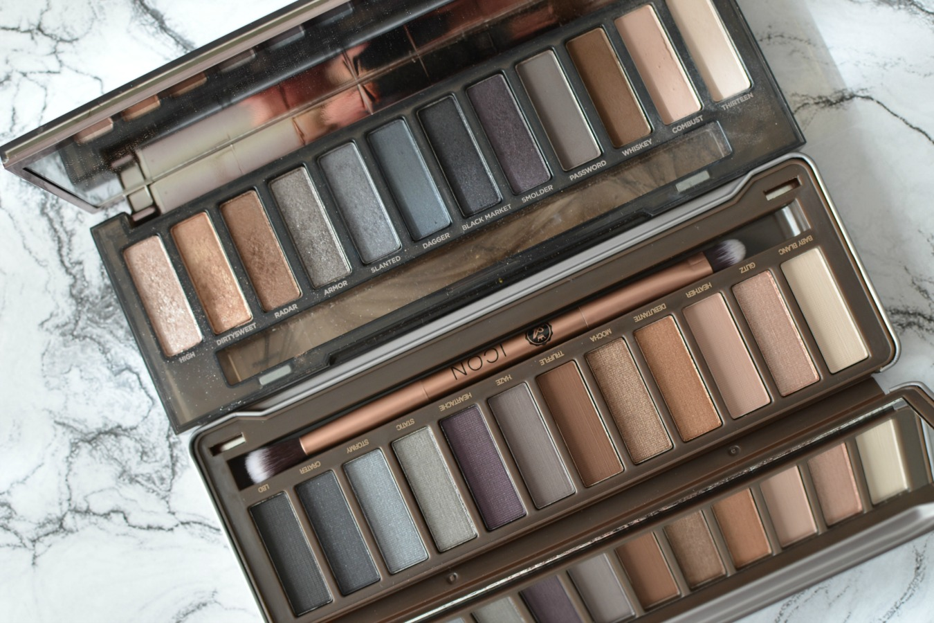 ICON de Absolute New York clon de Naked Smoky de Urban Decay