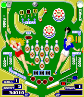 Pinball Action, panel Bolos