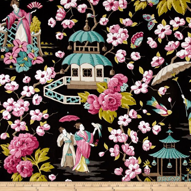 P Kaufmann Summer Palace fabric