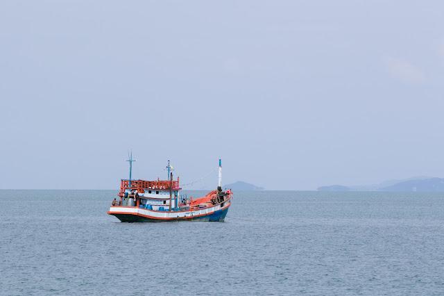 Ritorno a Koh Samui dall'Angthong national park