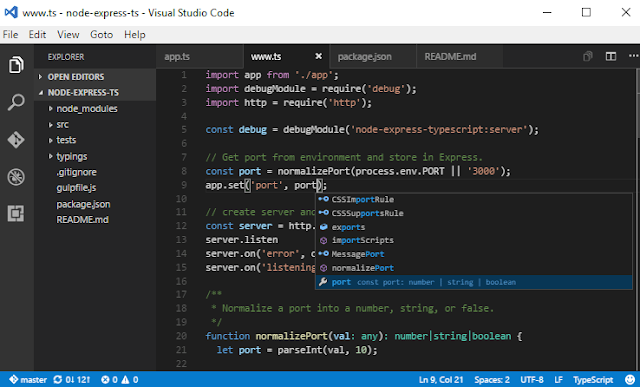visual studio code-best sublime text alternatives
