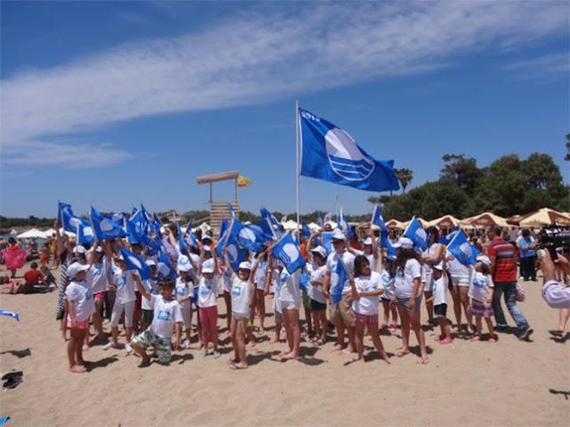 """""""Γαλάζια Σημαία"""" σε 430 Ελληνικές παραλίες!"""