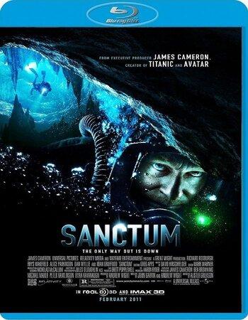 Sanctum (2011) Dual Audio Hindi 480p BluRay x264 350MB Movie Download
