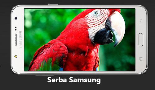 Samsung Galaxy J5 Layar