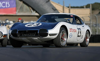 Toyota 2000GT Racing Car review