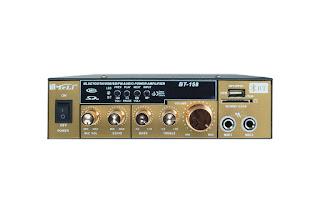 amplificatore stereo karaoke bt-158