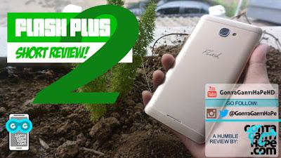 Maklum cuma dipinjami oleh seorang kenalan Review Singkat Flash Plus 2 - Indonesia