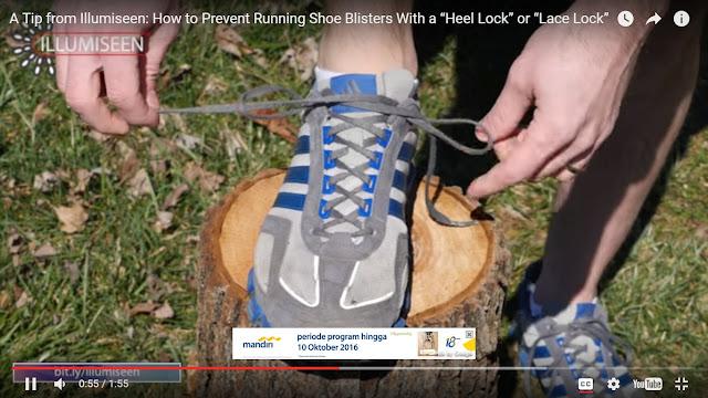 Ilustrasi cara mengikat tali sepat hiking yang benar.