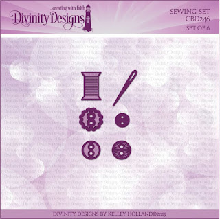 Divinity Designs LLC Custom Sewing Set Dies