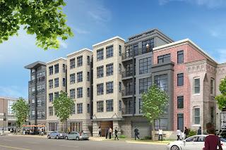 Condo projects in Washington DC's Logan Circle neighborhood, including CityINterests, CAS Riegler and PN Hoffman
