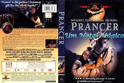 Filme Um Natal Mágico (Prancer) 1989 DVD Capa