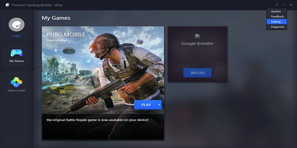 Cara Setings Emulator Terbaik Tencent Gaming Buddy Game PUBG Mobile