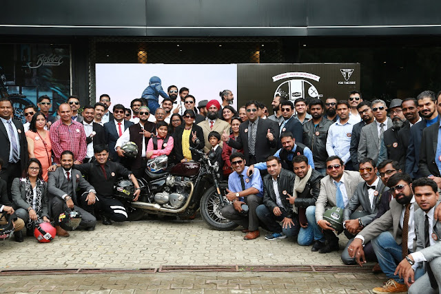 Triumph DGR Ride India