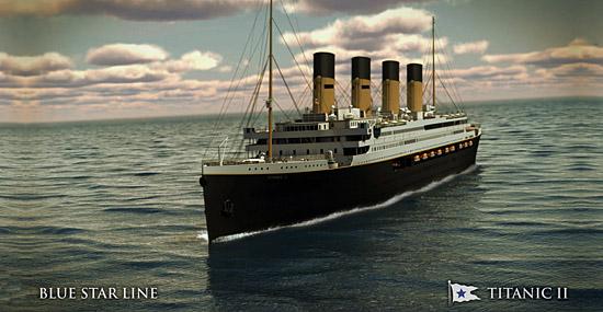Titanic II - réplica do navio fará viagem inaugural em 2018 - Capa