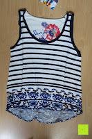 vorne: Desigual Damen T-Shirt Elsa