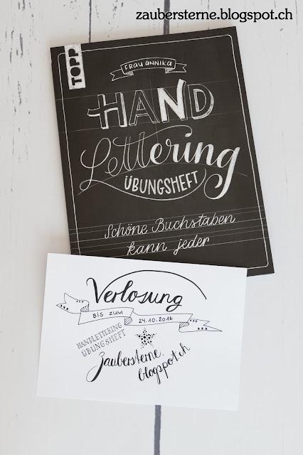 Übungsheft Handlettering, Topplettering, Lettering Buch, Kreativblog Schweiz