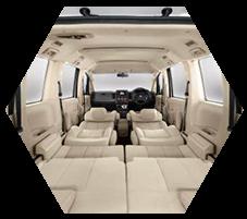Interior Mobil Mitsubishi Delica
