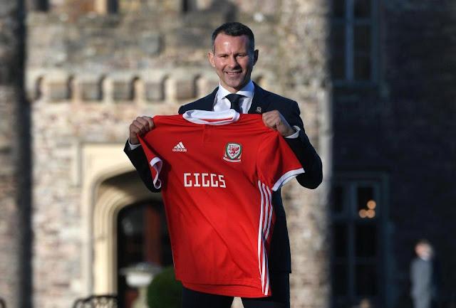 Ryan Giggs chính thức được bổ nhiệm làm HLV trưởng ĐT Xứ Wales
