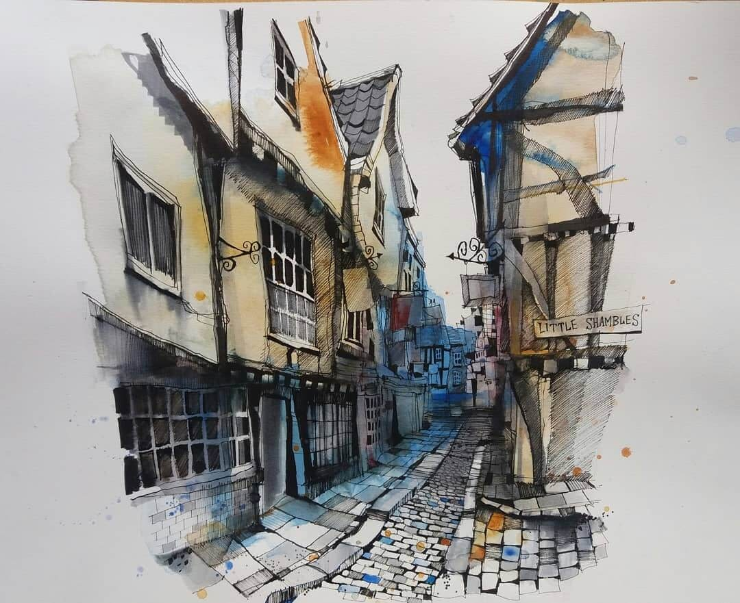 05-York-Ian-Fennelly-Urban-Sketches-Colorfully-Painted-www-designstack-co
