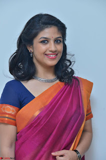 Supriya in Pink Saree Spicy Pics 029.JPG