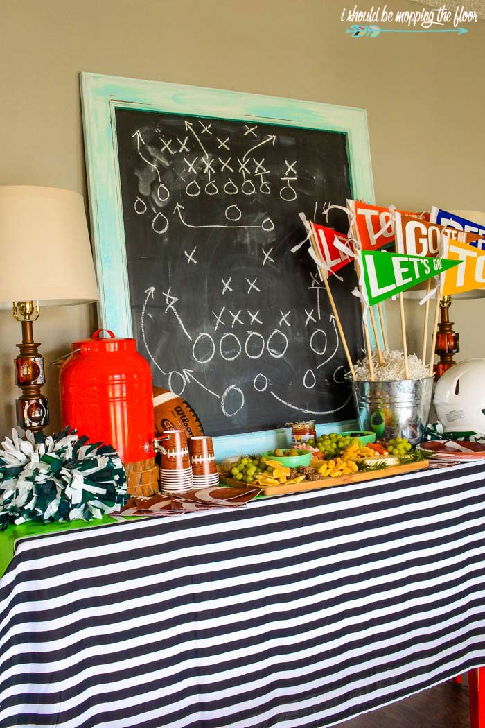 Football Party Spread
