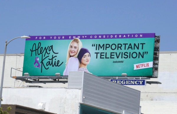 Alexa Katie season 1 Emmy consideration billboard