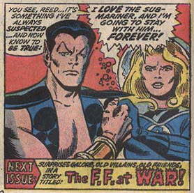 Fantastic Four 147 Namor Sue
