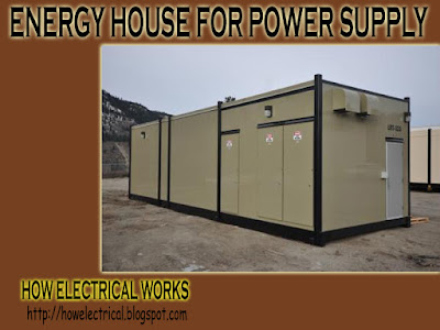 ehouse for power supply