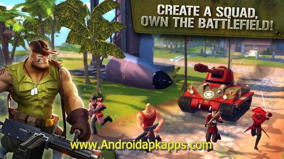 Blitz Brigade Online FPS fun Apk MOD v2.0.1b Full OBB Data Latest Version Gratis 2015