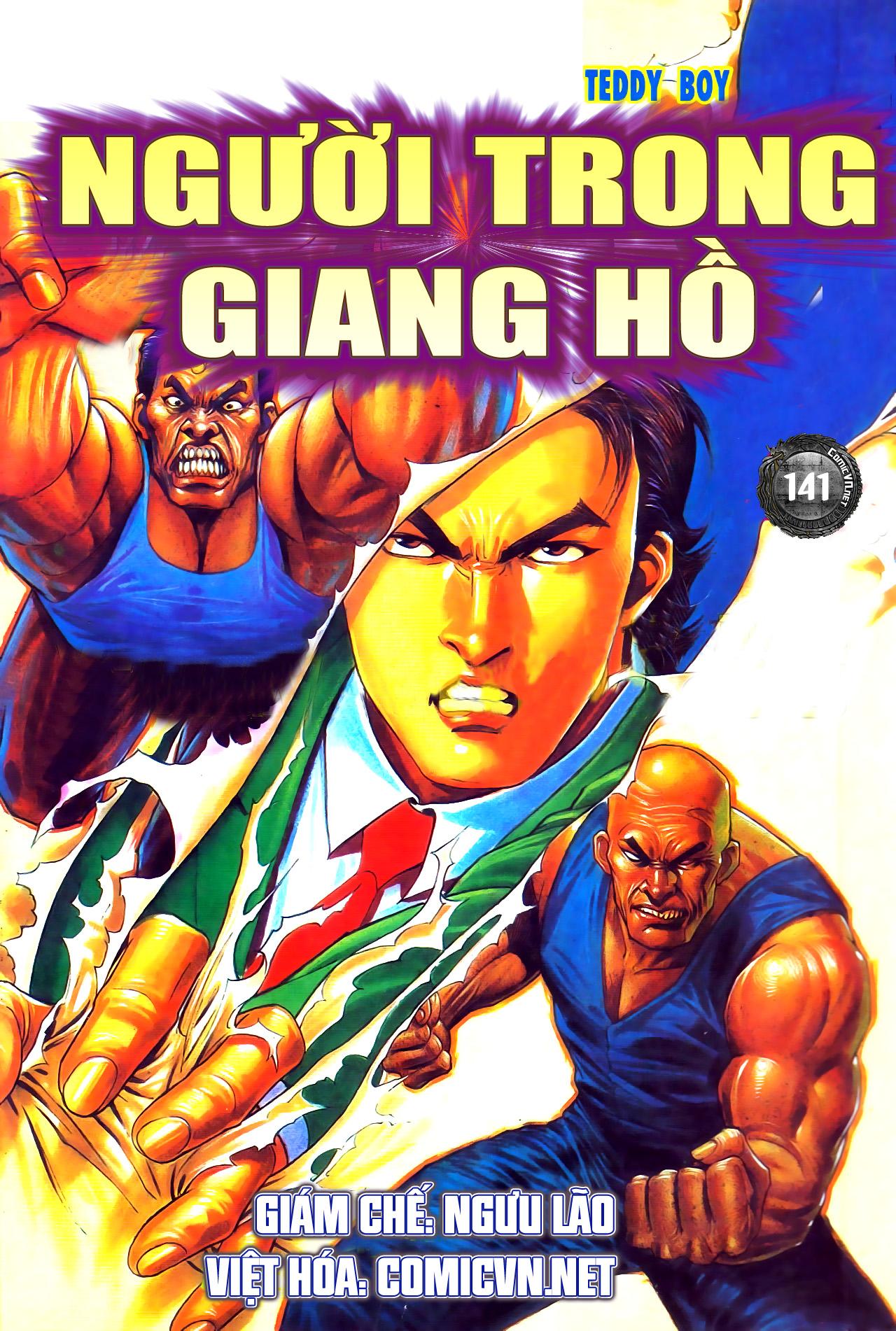 Người Trong Giang Hồ chapter 141: chính khí lẫm liệt trang 1
