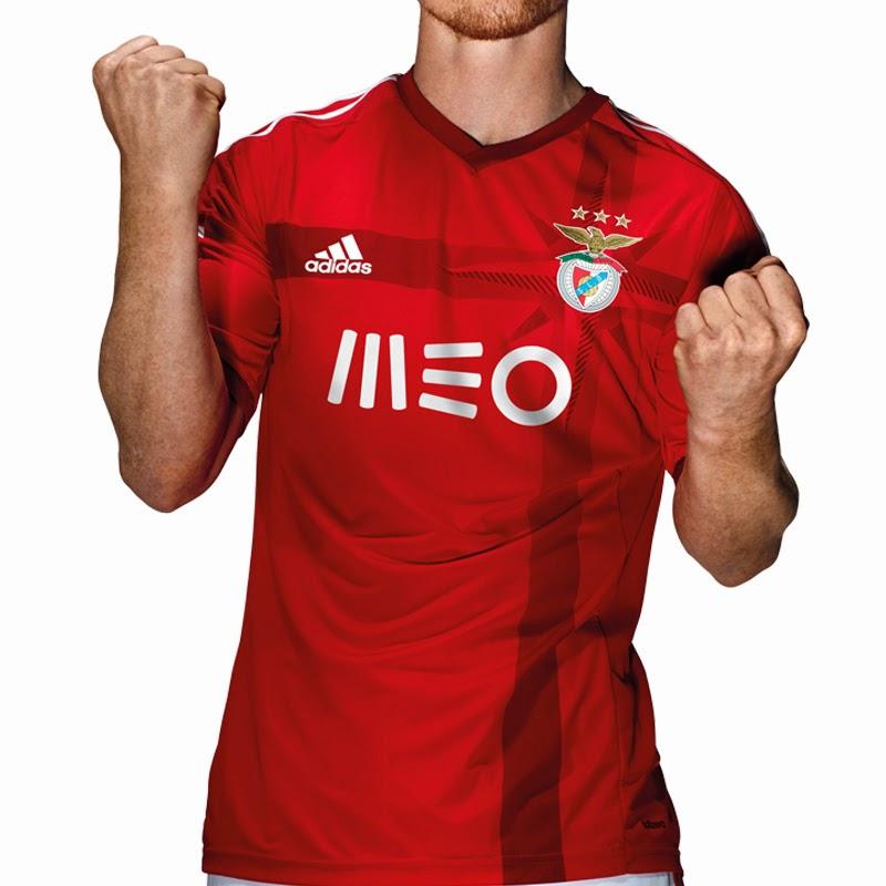 Blogue do FireHead  Camisola do Benfica para 2014 15 af1123a0dccb7