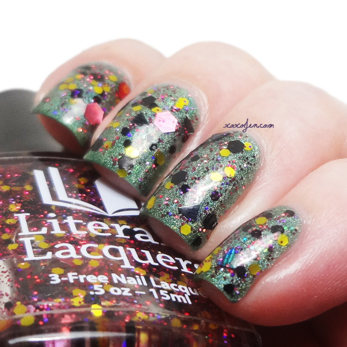 xoxoJen's swatch of Literary Lacquers English Voodoo