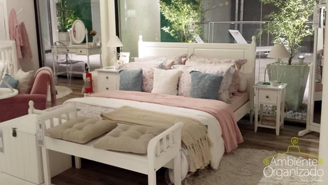 Roupa de cama em tons pasteis