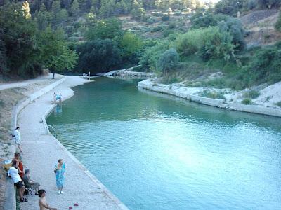 azud, assut ,Matarraña ,Matarranya, Beceite, Beseit, l´assut del Matarranya, l´assut de Beseit, el azud de Beceite, piscina natural,