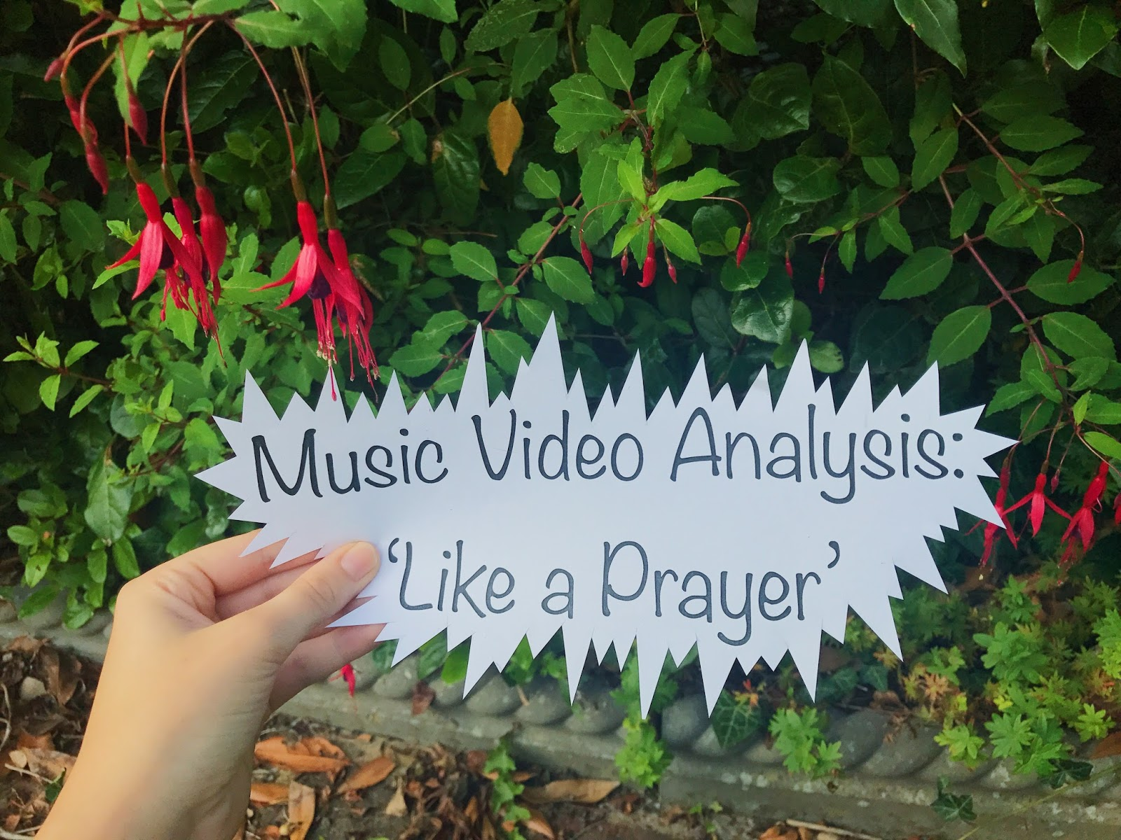 Music video analysis like a prayer oriana pooles media a music video is one of the three elements that create a successful music campaign and is the one that allows audiences to feel as though theyre getting buycottarizona