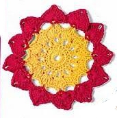 Patrón 888 Granny a Crochet