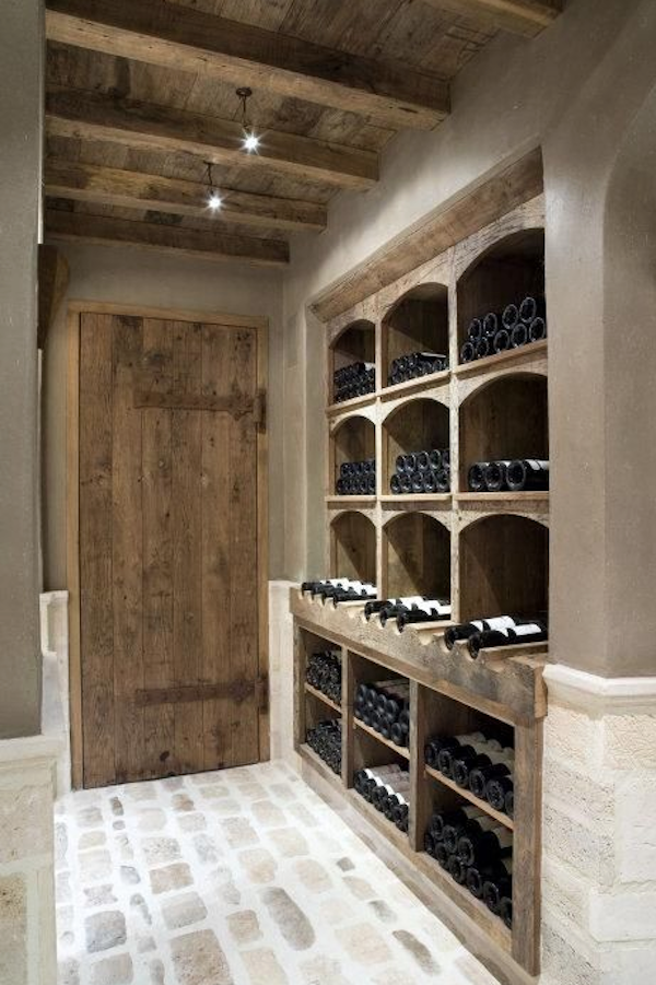Casual Loves Elegance Cozy Little Spaces That Store Wine