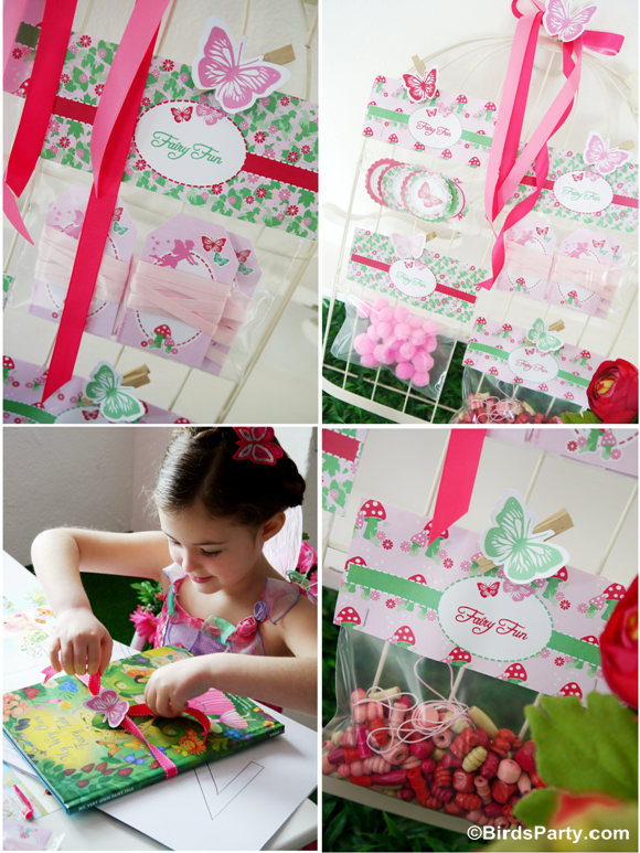 A pink pixie fairy birthday party party ideas party for Crafts to do at a birthday party