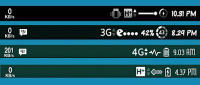 Kumpulan Icon Signal, Batterai, Wifi, Vibrate, Airplane, Network Untuk Asus Zenfone 5 Lollipop Terbaru